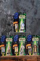 1998 Hasbro Star Wars POTF EPISODE I 1 FLASHBACK PHOTO LOT OF 4 W/ Free Shipping
