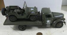 U S Army Hickham Air Field 1941 Chevrolet Flatbed Truck & Jeep NIB