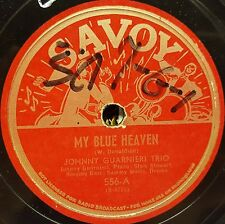 Savoy 556 Johnny Guarnieri Trio My Blue Heaven New Exercise In Swing VG+ 1944
