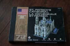 Casse-Tete 3D New York St. Patrick's Cathedral Large Paper 3D Puzzle Model