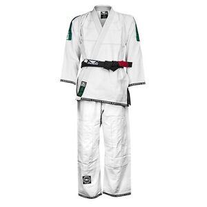 Bad Boy COMPETITION Jiu-Jitsu Gi White A4 A5 Uniform BJJ UFC MMA Roll Gracie