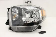 OEM HEAD LIGHT HEADLIGHT LAMP HEADLAMP TOYOTA TUNDRA 14-17 BLACK chip mount-have