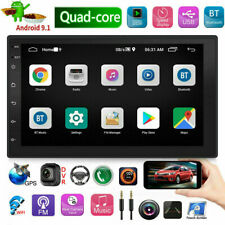 7 Inch 2 DIN for Android 9.1 Car Stereo Radio 2+16G Quad Core MP5 Player