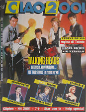CIAO 2001 42 1986 Talking Heads Neil Young Madonna Wham Lionel Ritchie Spagna
