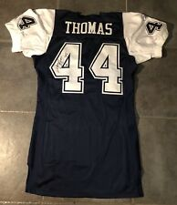 Dallas Cowboys Robert Thomas Autographed Game Issued Reebok Jersey Size 48 +4