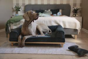 Orthopaedic Washable Premium Dog Bed Memory Foam Mattress Large Bottle Green