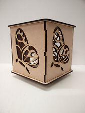 'Butterfly' MDF light box