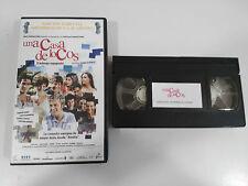 UNA CASA DE LOCOS VHS COLECCIONISTA EDICION ESPAÑOLA
