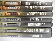 7 Pack Sonic Reality Reason 3 Refills Rhythm Triple Guitars Synths Omnisoundz