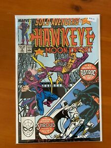 Solo Avengers Starring Hawkeye and Moon Knight 3 - Comic Book - B76-15
