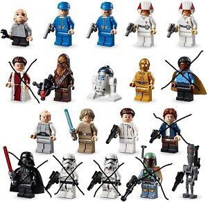 LEGO Star Wars Figuren aus Verrat auf Cloud City 75222 wie NEU NICHT ALLE