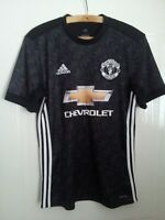 Manchester United Football Shirt Herrera Jersey 2017 2018 Adidas Away Top Size