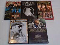 Sherlock Holmes Mystery DVD Lot Television Classics & Movie Collections Watson