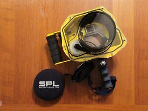 SPL Water Housing for Canon 5D Mark IV & 16-35 III Lens Port + Pistol Grip