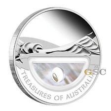Australien 2011 1$ Schätze Australiens mit Gold nuggets Silbermünze Australia