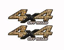 4X4 OFF ROAD TALL GRASS DUCK Camo Decals Truck Stickers 2 Pack KM011ORBX