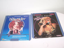 RCA Selectavision CED Video Disc Bette Midler Show Divine Madness  Sealed