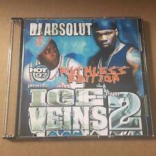 DJ Absolut Ice Veins #2 RARE NYC Hip Hop Mixtape Mix CD