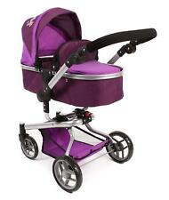 Bayer Chic 2000 Dolls Pram Large YOLO 2 in 1 Combi Kombi in Purple NIB
