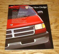 Original 1997 Dodge Ram Passenger Van Foldout Sales Brochure 97 SLT