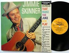 JIMMY SKINNER Songs that make the Jukebox play LP Stetson REISSUE Near-MINT