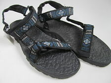 Womens Sandals Size 9 Rubber Bottom Shoremates Adjustable Print Straps