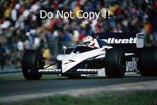 Nelson Piquet Brabham BT54 Dutch GRAND PRIX 1985 PHOTO 1