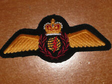 Canadian Air Force Wings Qualification Badge Flight Navigator