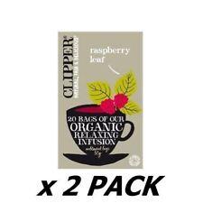 Clipper Organic Raspberry Leaf Tea 20 Bags  (2 Pack)