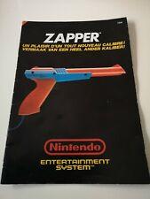 Notice Zapper Nintendo NES FAH