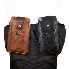 """Phone Holster Clip Loop Case Belt Pouch Waist Pack Card Slot For 5.5""""-4.7"""" Phone"""