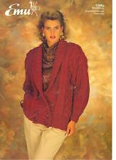 Emu Snowball KNITTING PATTERN jacket 1396A