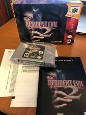 Resident Evil 2 Nintendo 64 Boxed Complete N64 Mint Game.
