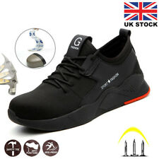 Mens Safety Shoes Trainers Steel Toe Work Boots Protective Hiking Sneakers UK
