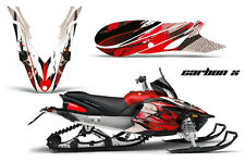 Snowmobile Graphics Kit Decal Sticker Wrap For Yamaha Apex 2012-2016 CARBONX RED