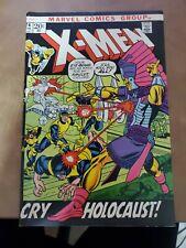 The Uncanny X-Men # 74 Marvel Comic Book Bronze Age Feb 1972 Very Good Holocaust