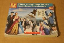 IF YOU LIVED IN COLONIAL TIMES AMERICAN REVOLUTION 3 PB SCHOLASTIC BOOKS NEW!