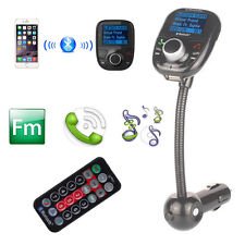 Bluetooth Car Kit MP3 Player FM Transmitter Handsfree for iPhone 6 5 Samsung HTC