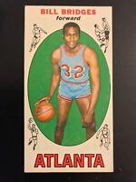 1969-70 Topps Bill Bridges Rookie Card #86 Atlanta Hawks