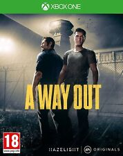 A Way Out Xbox One Game Prison Break NEW