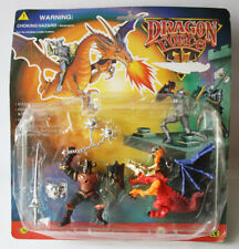 RARE VINTAGE 1995 DRAGON FORCE KNIGHT FIGURE PLAYSET CHAP MEI NEW SEALED !