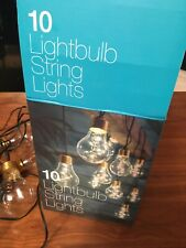 10 Mains Lightbulb Stringlights Indoor Outdoor Garden