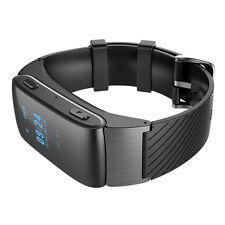 Smart Watch Bluetooth DF22 Handsfree Bracelet 2-in-1 Wrist for Android Black