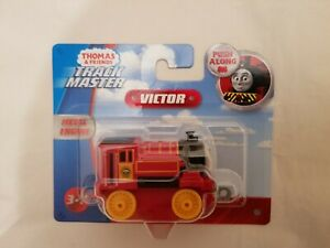 Thomas The Tank Engine & Friends TRACKMASTER PUSH ALONG VICTOR METAL ENGINE NEW