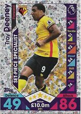 2016 / 2017 EPL Match Attax (391) Set-Piece Specialist TROY DEENEY Watford
