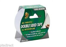 Duck Shurtape Double Sided Interior Tape 38mm x 5m - Adhesive Tape