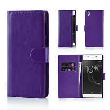 32nd Book Wallet PU Leather Case Cover for Sony Xperia Z2 Mobile Phone - P