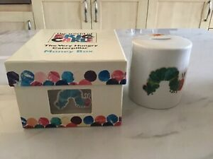 Brand New Boxed The Very Hungry Caterpillar Moneybox By  Eric Carle - Portmerion