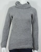 Benedetta B. #6873 NEW Women's Grey Long Sleeve Made in Italy Pullover Sweater