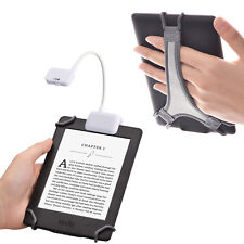 TFY Clip-on LED Reading Light with 2 Levels of Lumen Intensity for Kindle, other
